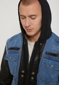 Be Edgy - BEMAX D - Denim jacket - black/indigo - 3