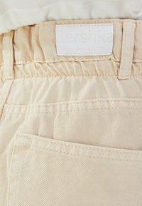 Bershka - Straight leg jeans - beige - 5