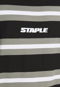 STAPLE PIGEON - STRIPED TANK UNISEX - Top - black - 5