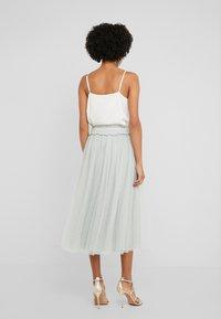 Needle & Thread - HONEYCOMBE SMOCKED BALLERINA SKIRT - A-line skirt - meadow green - 2
