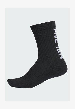 HALF-CUSHIONED - Sports socks - black