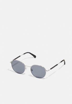 UNISEX - Sunglasses - shiny silver-coloured