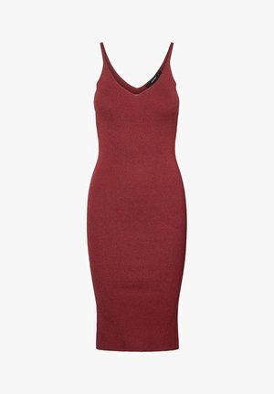 Shift dress - tibetan red