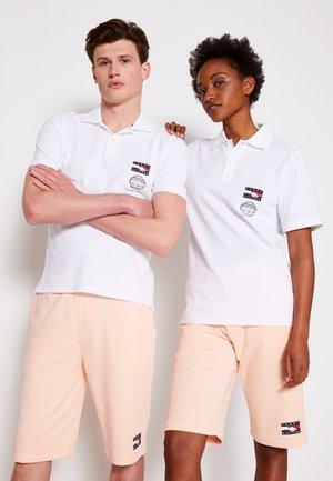 ONE PLANET SMALL LOGO UNISEX - Polo shirt - white