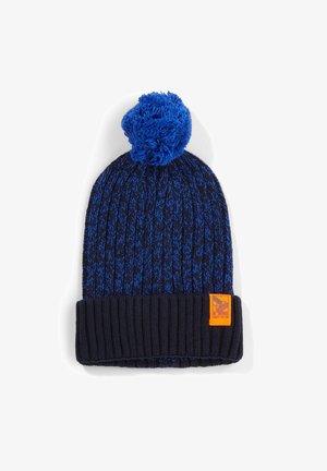 Beanie - dark blue knit