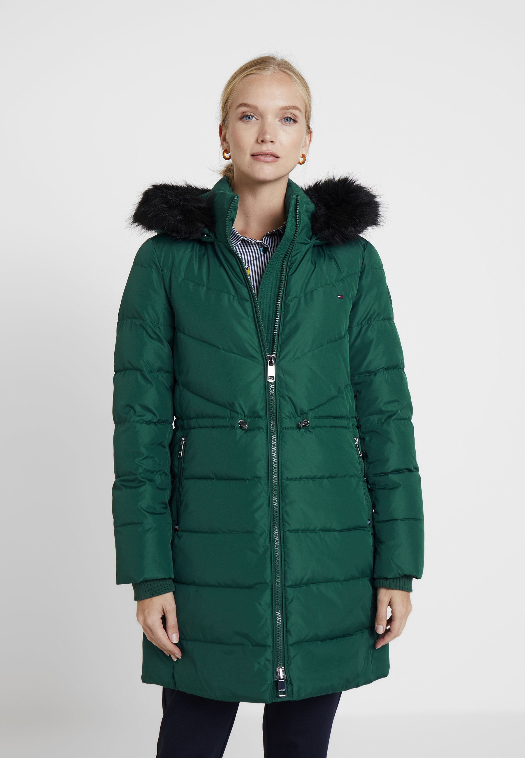 Boda esperanza Orador  Tommy Hilfiger ALANA PADDED COAT - Winter coat - green - Zalando.co.uk