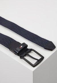 Tommy Hilfiger - DENTON ELASTIC - Braided belt - blue - 2