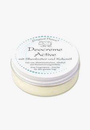 DEOCREME ACTIVE MIT SHEABUTTER UND KOKOSÖL 40 G - Deodorant - weiß