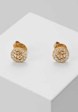 MINIATURE - Boucles d'oreilles - gold-coloured