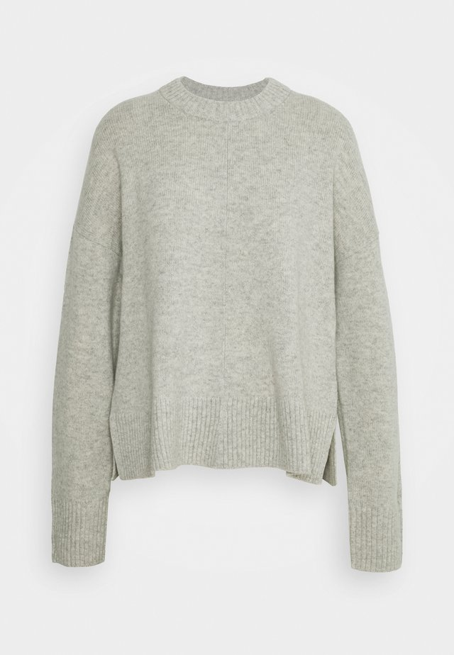 Strikpullover /Striktrøjer - grey dusty light