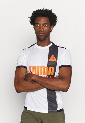 FUSSBALL PARK - T-shirt print - white