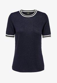 ONLY - MIT KURZEN ÄRMELN  - T-shirts print - dark blue - 5