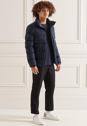 STUDIOS ALPINE - Down coat - navy wool