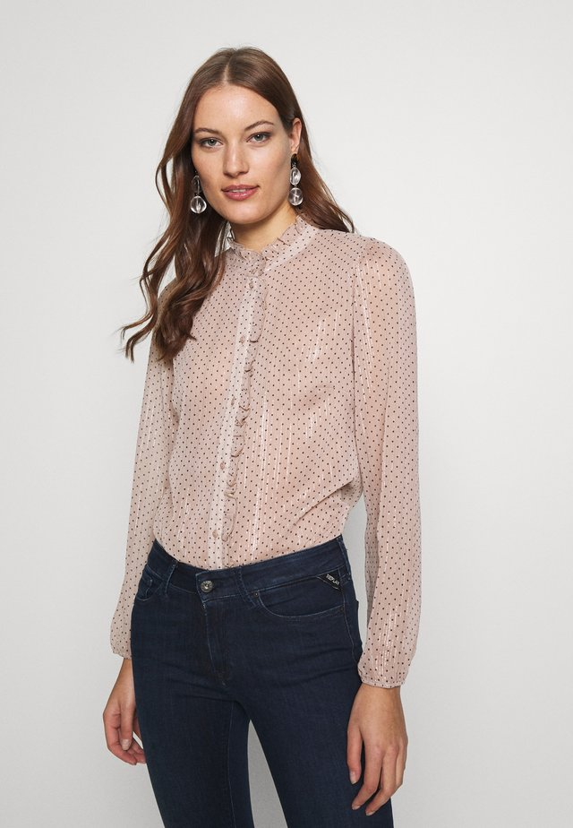 TIKKISZ  - Button-down blouse - ghost