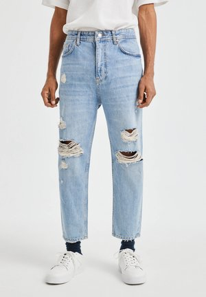 JEANS IM RELAXED-FIT - Slim fit jeans - blue denim