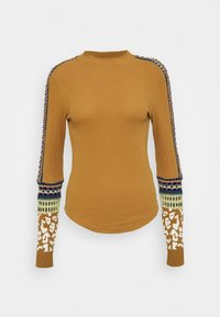 Free People - SWITCH IT UP THERMAL - Jumper - sienna - 4