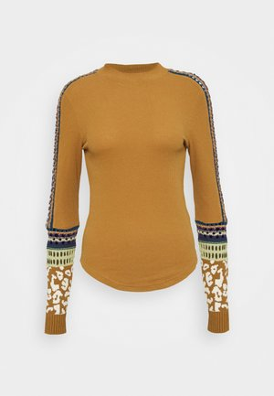 SWITCH IT UP THERMAL - Jumper - sienna