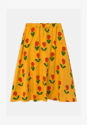 VIOLAS - A-line skirt - yellow