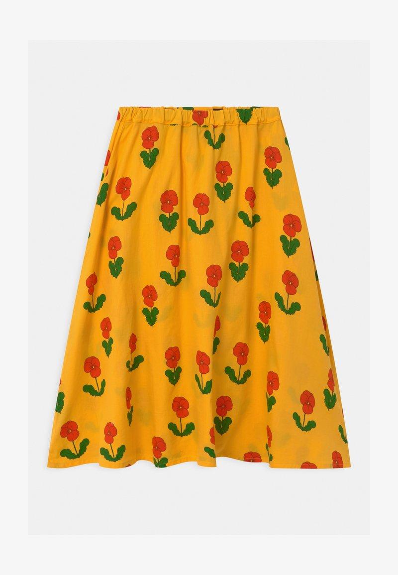 Mini Rodini - VIOLAS - A-line skirt - yellow