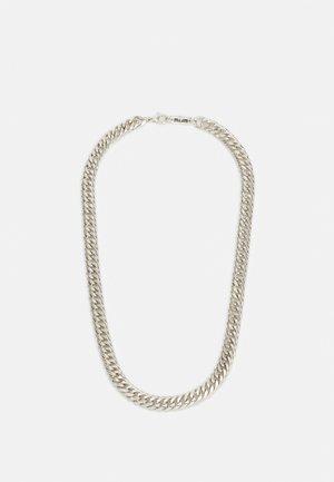 HEAVY LINK NECKLACE - Collana - silver-coloured