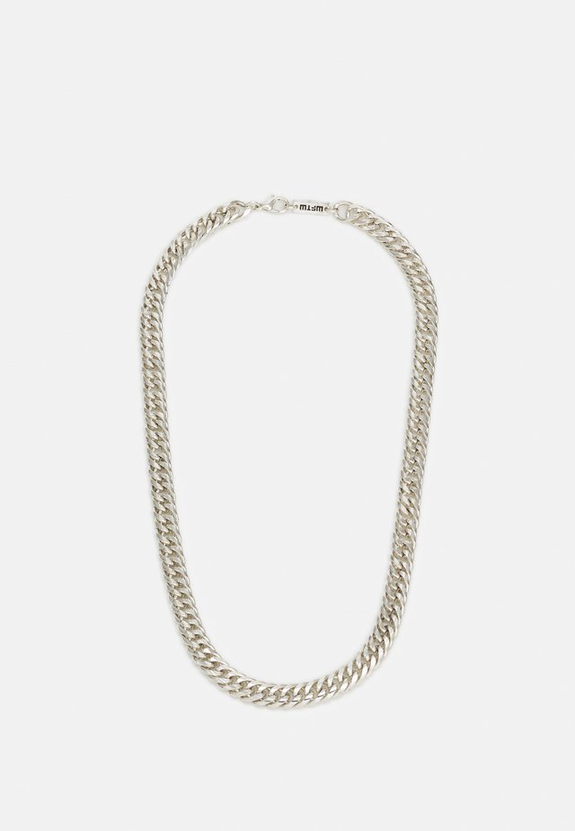 HEAVY LINK NECKLACE - Smykke - silver-coloured