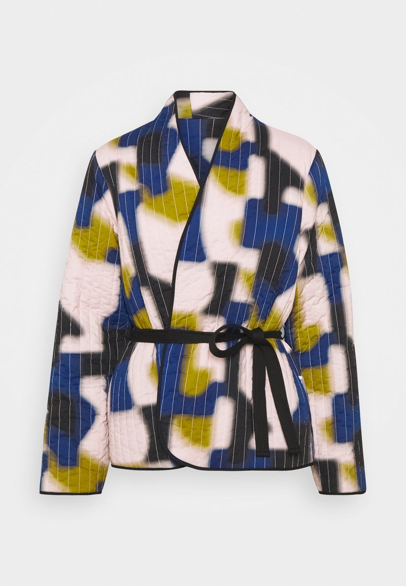 CLOSED - BRITT - Summer jacket - icy verbena