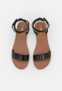 ONLY SHOES - ONLMELLY CHAIN  - Sandals - black - 5