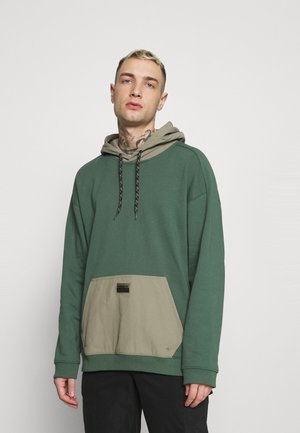 UTILITY HOODY - Sweater - green oxide/clay