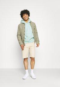 adidas Originals - PREMIUM HOODY UNISEX - Sweatshirt - hazy green - 1