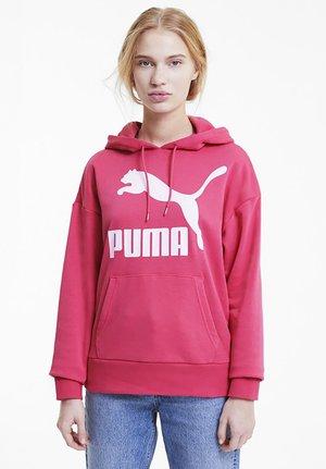 KVINDE - Felpa con cappuccio - glowing pink