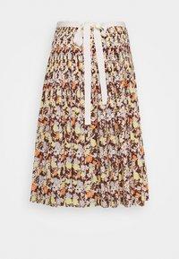 Tory Burch - PLEATED TIE WRAP SKIRT - Pleated skirt - reverie - 1