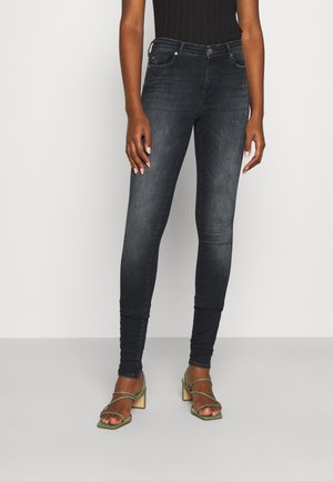 ONLSHAPE LIFE - Jeans Skinny Fit - blue black denim