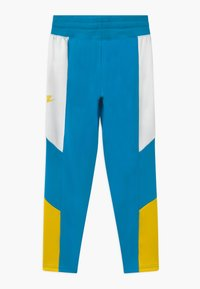 Nike Sportswear - HERITAGE - Tracksuit bottoms - laser blue/white/speed yellow - 1