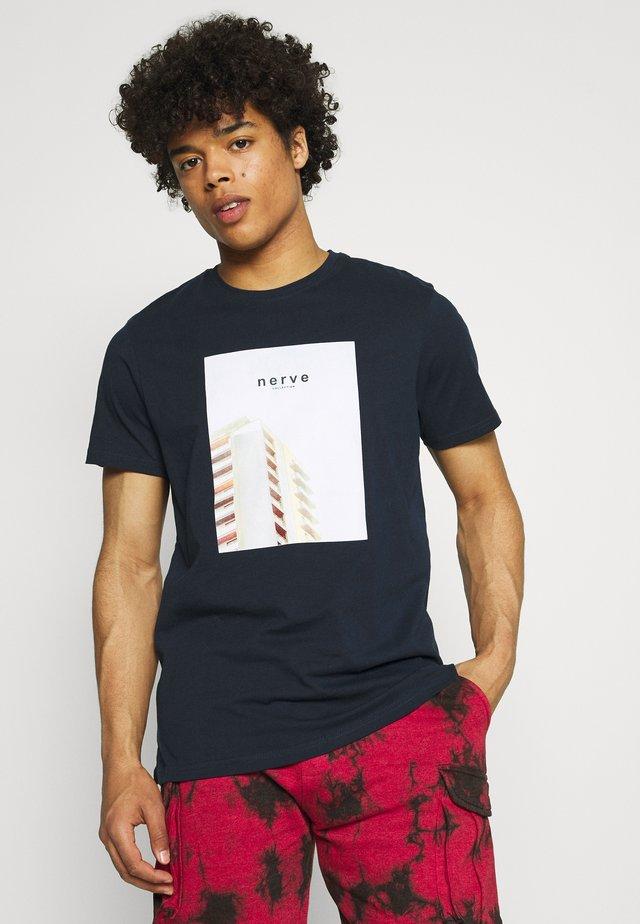 TEE - T-Shirt print - navy