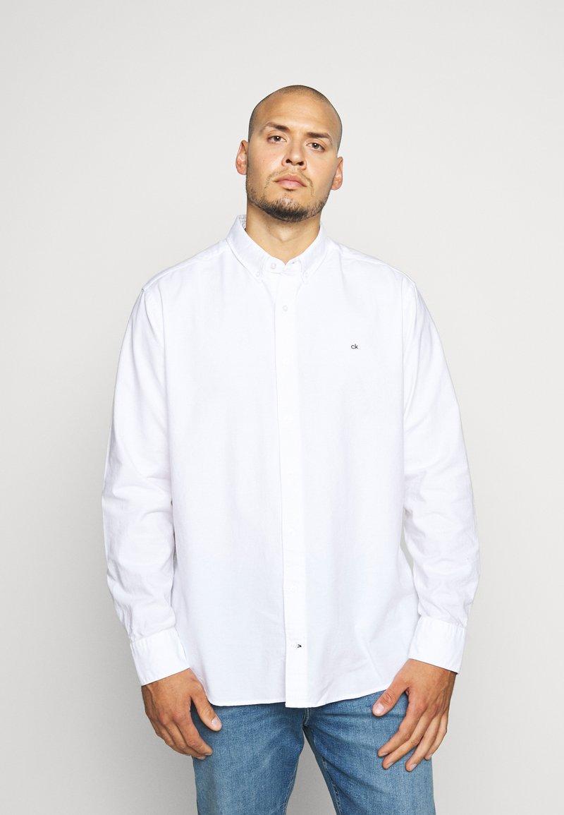 Calvin Klein - OXFORD - Shirt - white