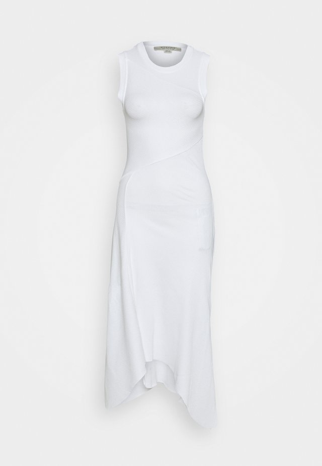 GIA DRESS - Vestito lungo - optic white