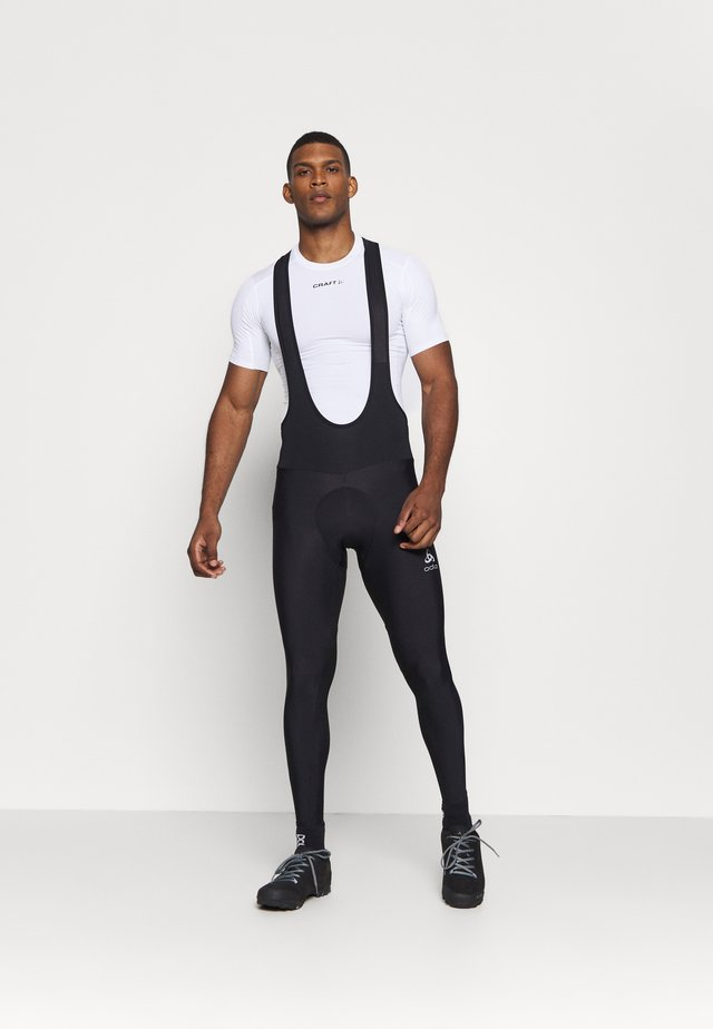 TIGHTS SUSPENDERS ZEROWEIGHT  - Leggings - black