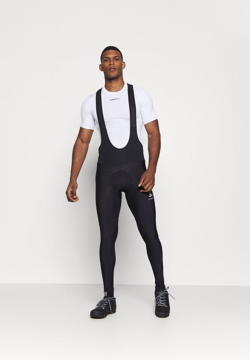 ODLO - TIGHTS SUSPENDERS ZEROWEIGHT  - Leggings - black