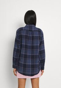 Roxy - TURN IT UP CHECK - Button-down blouse - mood indigo party - 2