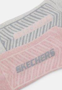 Skechers - BASIC CUSHIONED SNEAKER 2 PACK - Trainer socks - apricot - 1