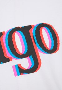 HUGO - DONTROL - T-shirt imprimé - white - 6