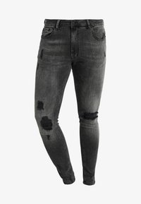 Pier One - Skinny džíny - black denim - 4