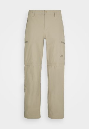 EXPLORATION CONVERTIBLE PANT - Outdoor trousers - dune beige