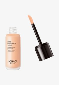 KIKO Milano - FULL COVERAGE 2 IN 1 FOUNDATION AND CONCEALER - Foundation - 25 neutral - 0