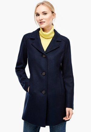 Short coat - navy melange