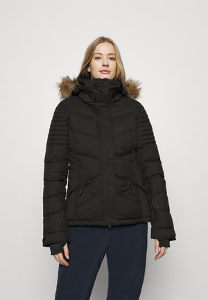 SNOW LUXE PUFFER - Ski jacket - black