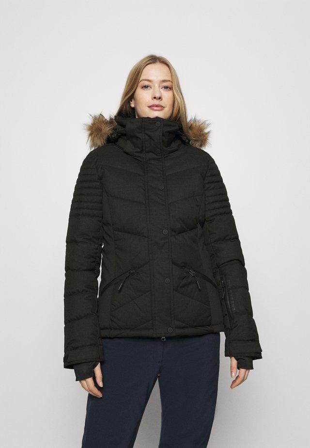 SNOW LUXE PUFFER - Lyžařská bunda - black