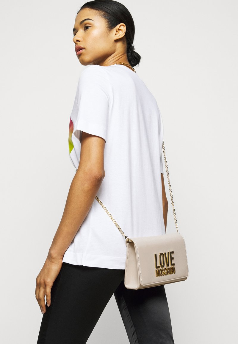 Love Moschino - Across body bag - avorio