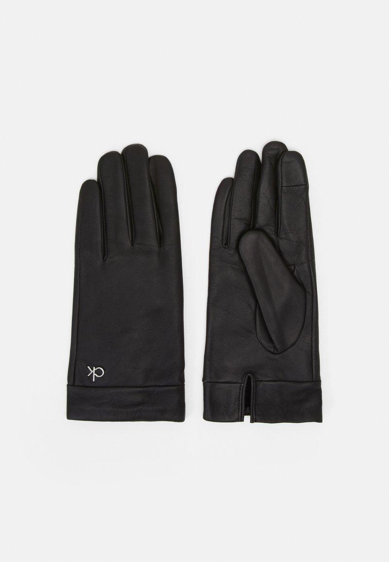 Calvin Klein - GLOVES - Rękawiczki pięciopalcowe - black