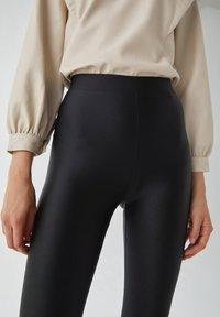PULL&BEAR - Leggings - Trousers - black - 3